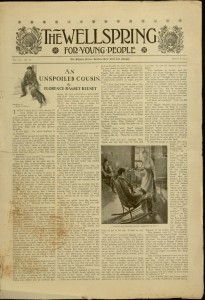 [73] p., The Wellspring for young people, v. LXX, no. 10, March 8, 1913