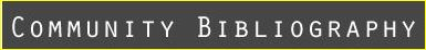 Community Bibliography