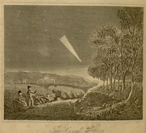 "Plate, ""The Comet of 1811"", The Wonders of the universe, v. 1"