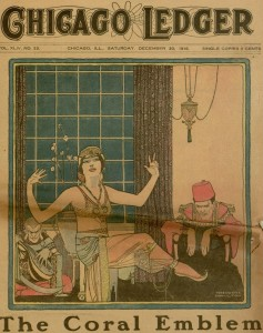 Selection, front cover, Chicago Ledger, v. XLIV, no. 53, December 30, 1916