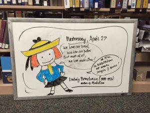 Doodle, April 27, 2016