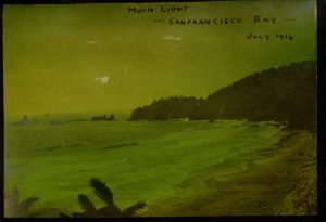 "Selection [28] p., ""Moon Light San Francisco Bay July 1914"""