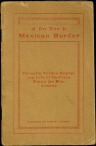 "Front cover, ""Doughboy Poetry"" (Cover title: On the Mexican border)"