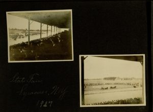 [10] p., Photograph album New York State Fair, 1907