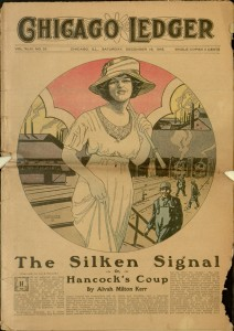 Front cover, Chicago Ledger, v. XLIV, no. 51, December 16, 1916