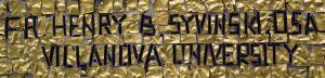 Father Syvinski's signature