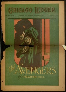 Front cover, Chicago Ledger, v. XLVI, no. 48, Saturday, November 30, 1918