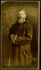 Photograph, Father Augustine in habit with book