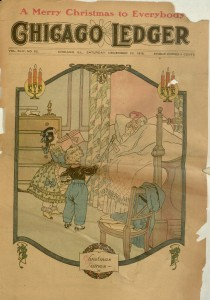 Front cover, Chicago Ledger, v. XLIV, no. 52, December 23, 1916