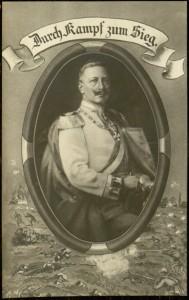 """Postcard, """"Durch Kampf zum Sieg"""", [n.d.]"""