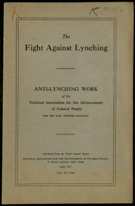The Fight Against Lynching