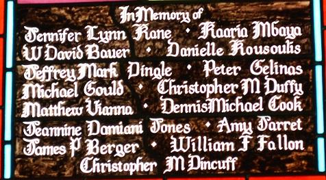 List of alumni who perished on 9/11