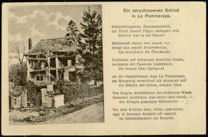 Postcard, To: Frida Heilshorn From: Gerhard Hauschild, July 21, 1915