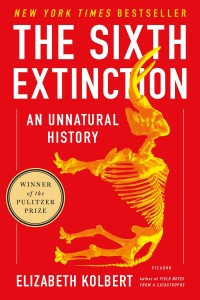 BOOK COVER SIXTH EXTINCTION