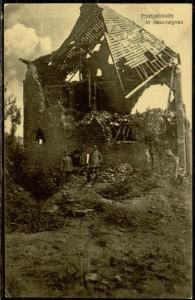Postcard, To: Frida Heilshorn From: Gerhard Hauschild, October 7, 1915
