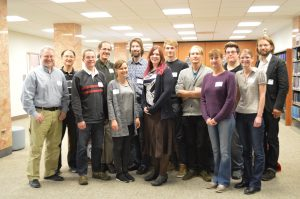The VuFind Summit 2015 group.