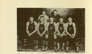 Selection from p. 12,  (Varsity 1920-21 team)
