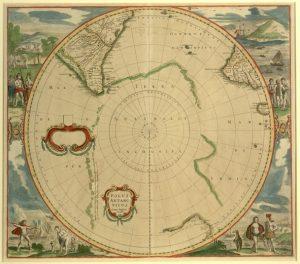 Polus Antarcticus / Ioannes Ianssonius excudit