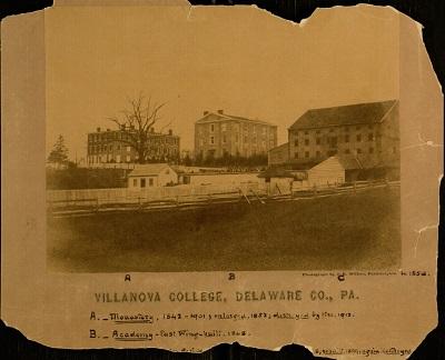 Villanova College, Delaware C., Pa, 1856