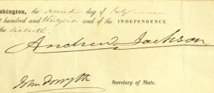 Selection, from: Certificate, Presidential Appointment as Deputy Postmaster, To: Isaac McConihe, Troy, New York From: President Andrew Jackson, July 2, 1836