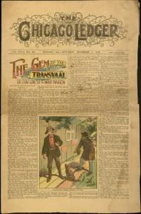 [1], Chicago Ledger, v. XXVII, no. 46, Saturday, November 11, 1899