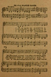 "p 3, ""The Star Spangled Banner"", American song book"