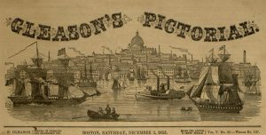 Masthead illustration, from Gleason's Pictorial Drawing-Room Companion, v. V, no. 23, Saturday, December 3, 1853