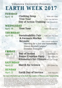 Take a look at all the activities available for you to celebrate Earth Week!
