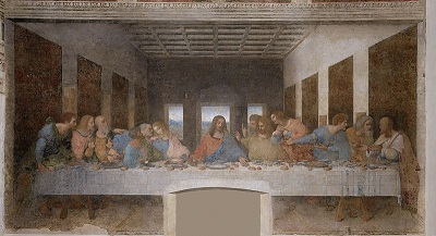 Image of da Vinci's Last Supper