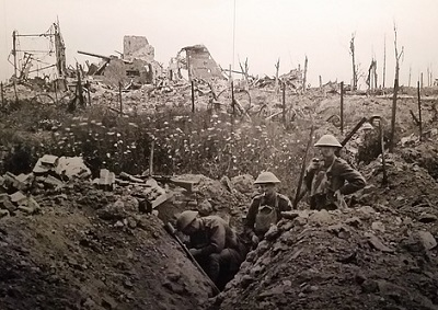 World War I trench warfare