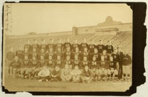 """Villanova College Varsity Football Squad 1932"", [25 verso], Photograph album, Villanova College, 1930"