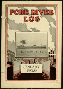 The Fore River Log, v. V, no. 3, January, 1920