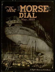Front cover, The Morse Dry Dock Dial, v. 6, no. 5, May, 1923