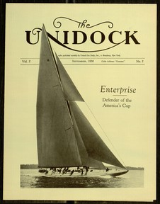 The Unidock, V. 2, No. 2, September, 1930