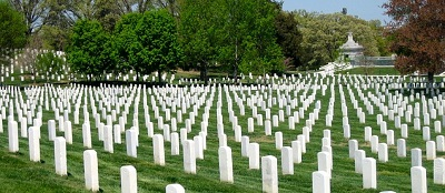 View of Arlington National Cemetery