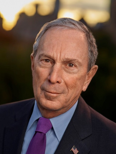 Photograph of Michael Bloomberg