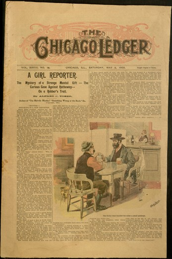 Chicago Ledger, v. XXVIII, no. 18, Saturday, May 5, 1900