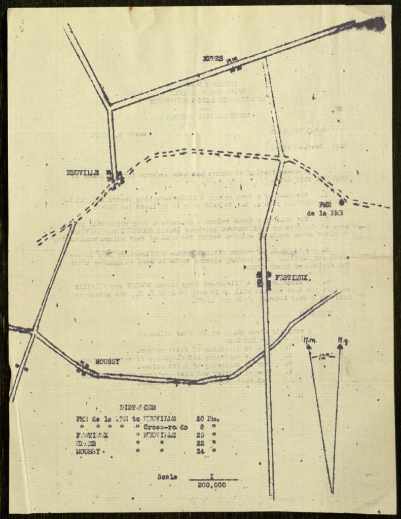 [79], Insert 3, back, Francis Bolton Elwell Scrapbook: 1917-1919