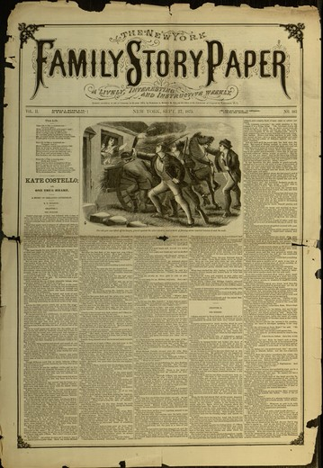 The New York family story paper, v. II, no. 103, Sept. 27, 1875