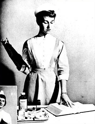 Student nurse from 1934 Belle Air