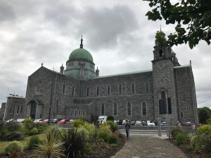 A cathedral in Galway that we walked past most days during our time there!