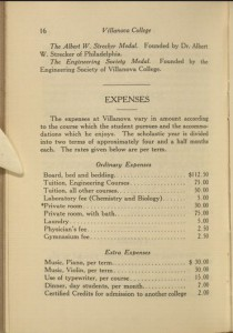 Catalogue of Villanova College, 1918-19.