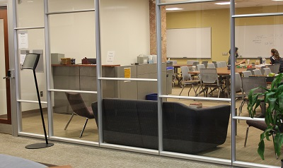 Mathematics Learning Resource Center in new room
