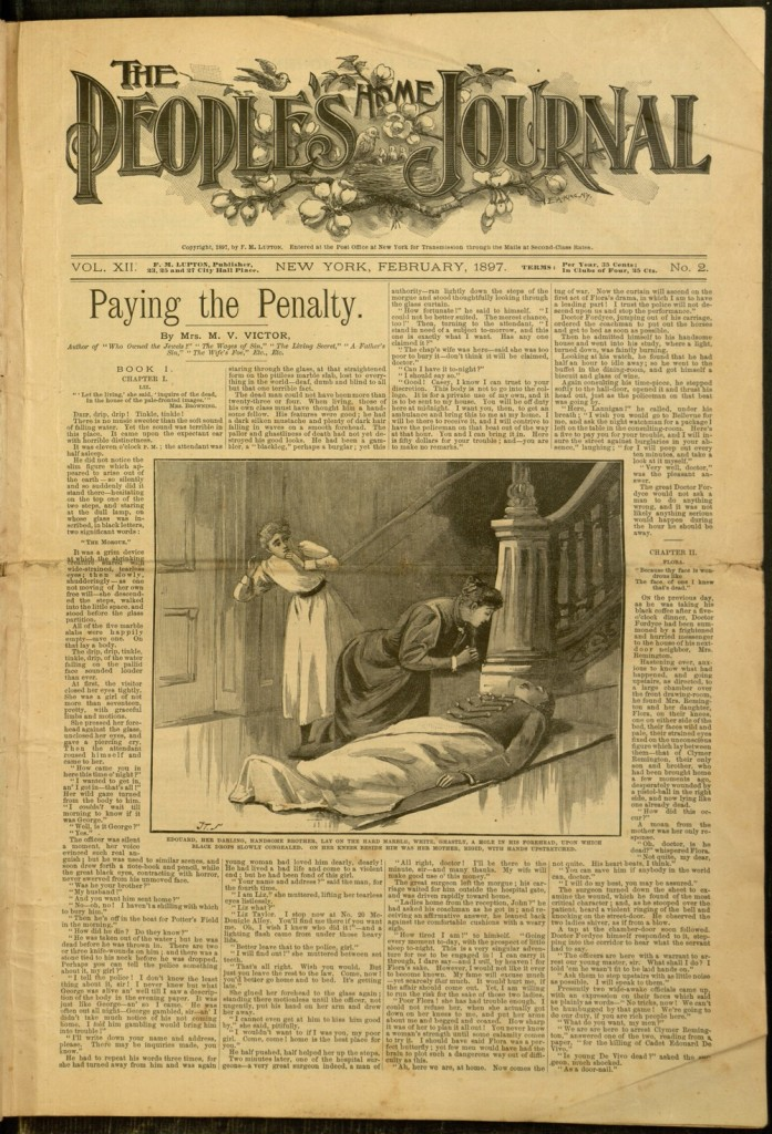 The People's Home Journal, v. XII, no. 2, February 1897