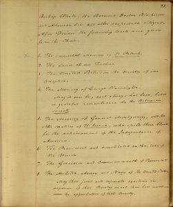 Rules Minutes &c. of the Society of the Friendly Sons of St. Patrick, 1813-1832.