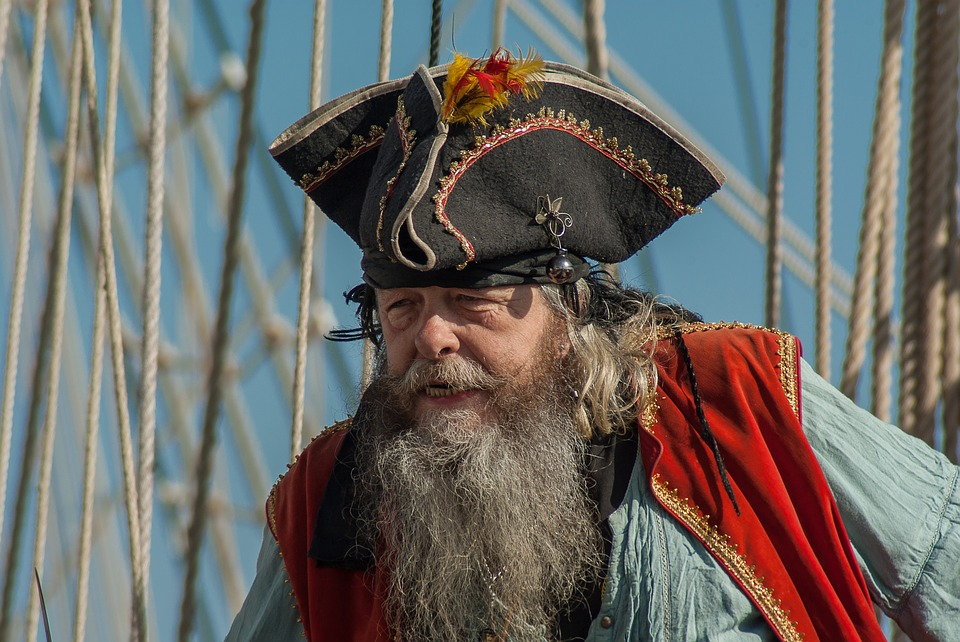 I finally get to show off my pirate knowledge and as well as my #hatgoals (Photo from Pixabay.com)