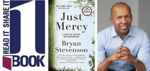 bryan stevenson, one book, just mercy, 2018
