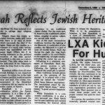 """#TBT: """"To all of the Villanova Jewish Community, a Very Joyous and Happy Hanukkah"""""""