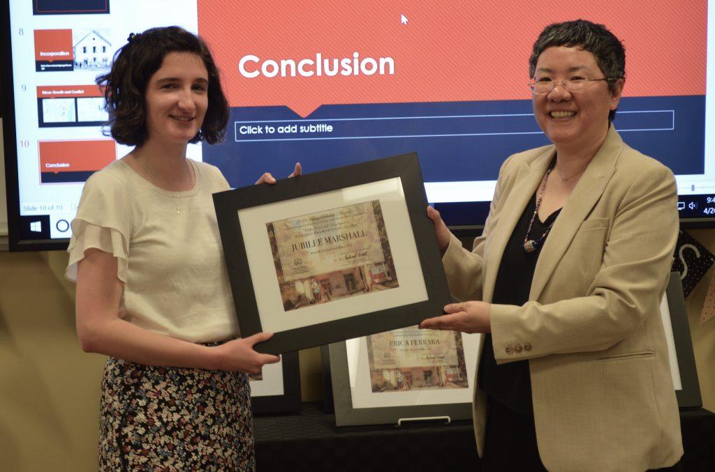 Jubliee wins Falvey Scholar Award