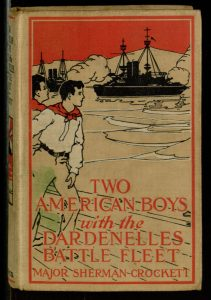 Two American Boys with the Dardenelles Battle Fleet